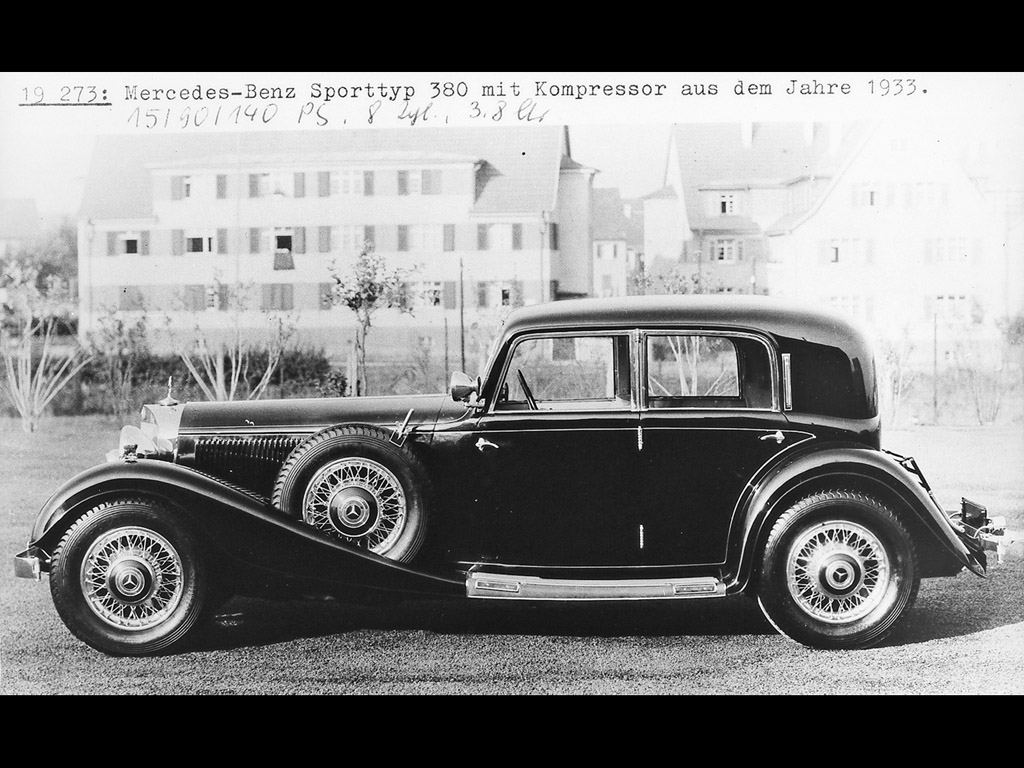 Mercedes-benz 380 photo - 1