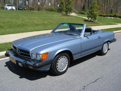 Mercedes-benz 560sl photo - 1