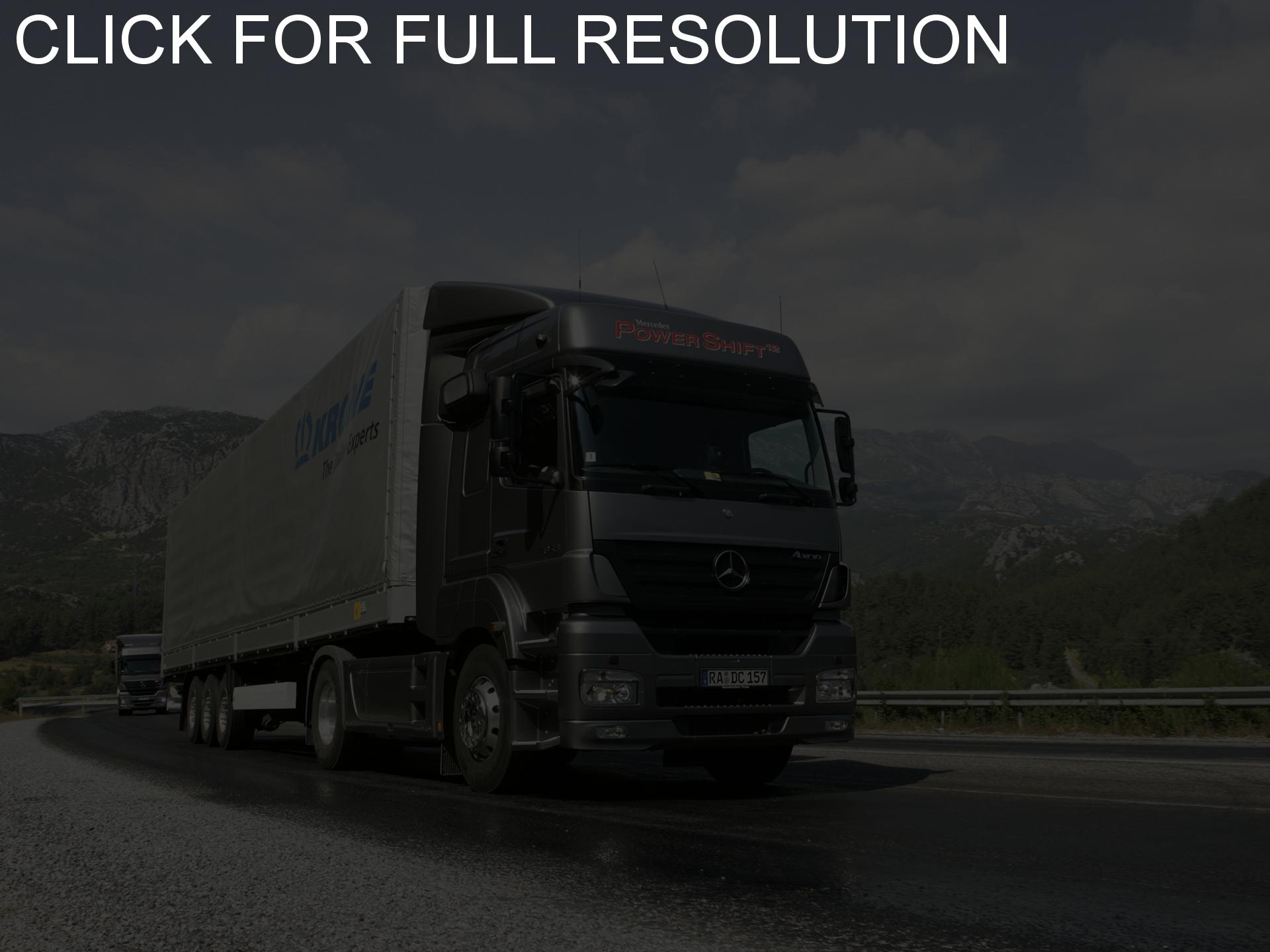 Mercedes-benz axor photo - 2