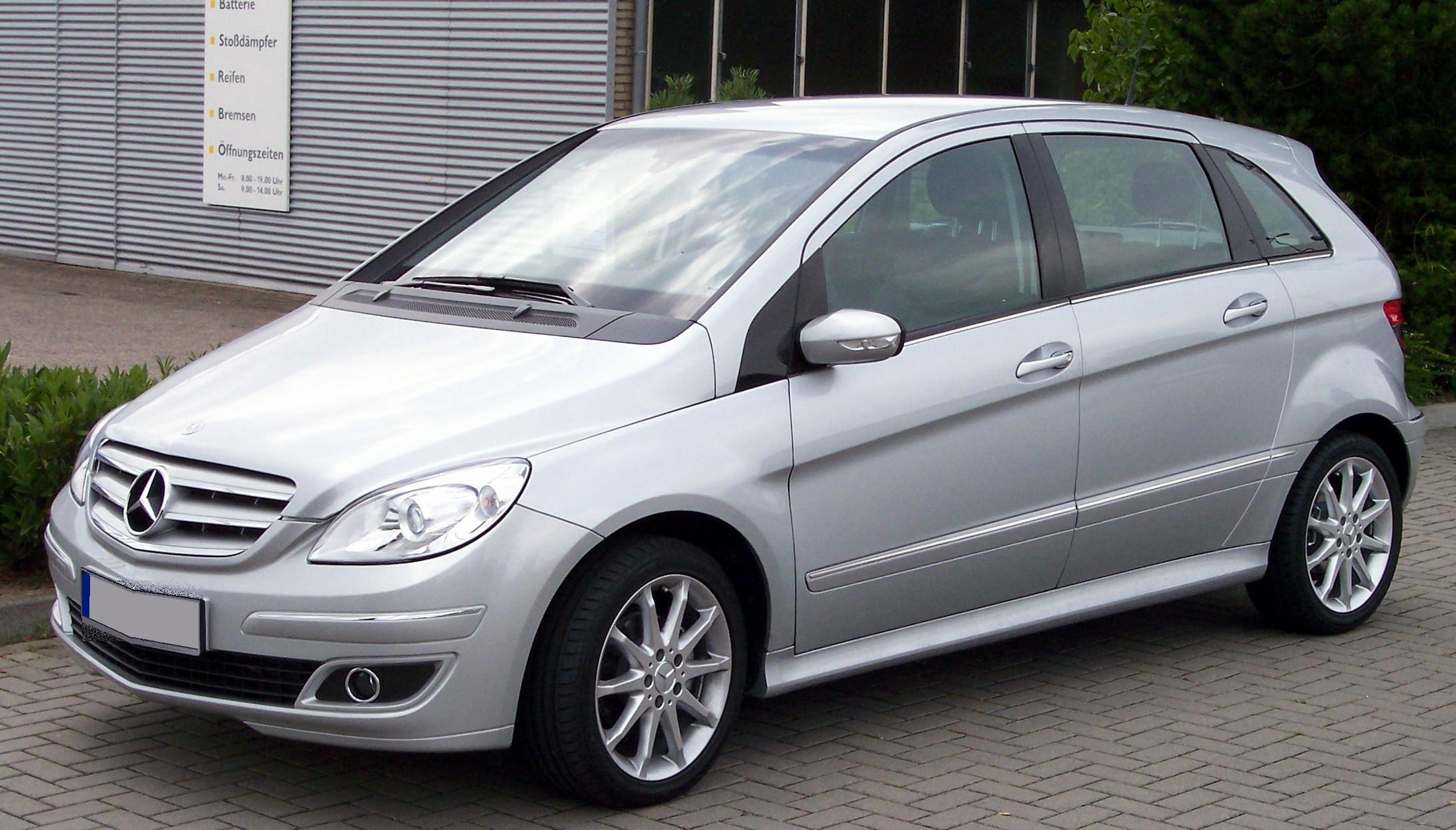 Mercedes-benz b170 photo - 3