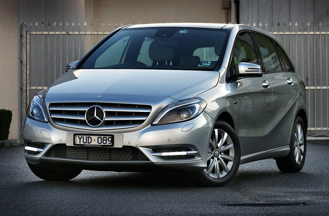 Mercedes-benz b180 photo - 1