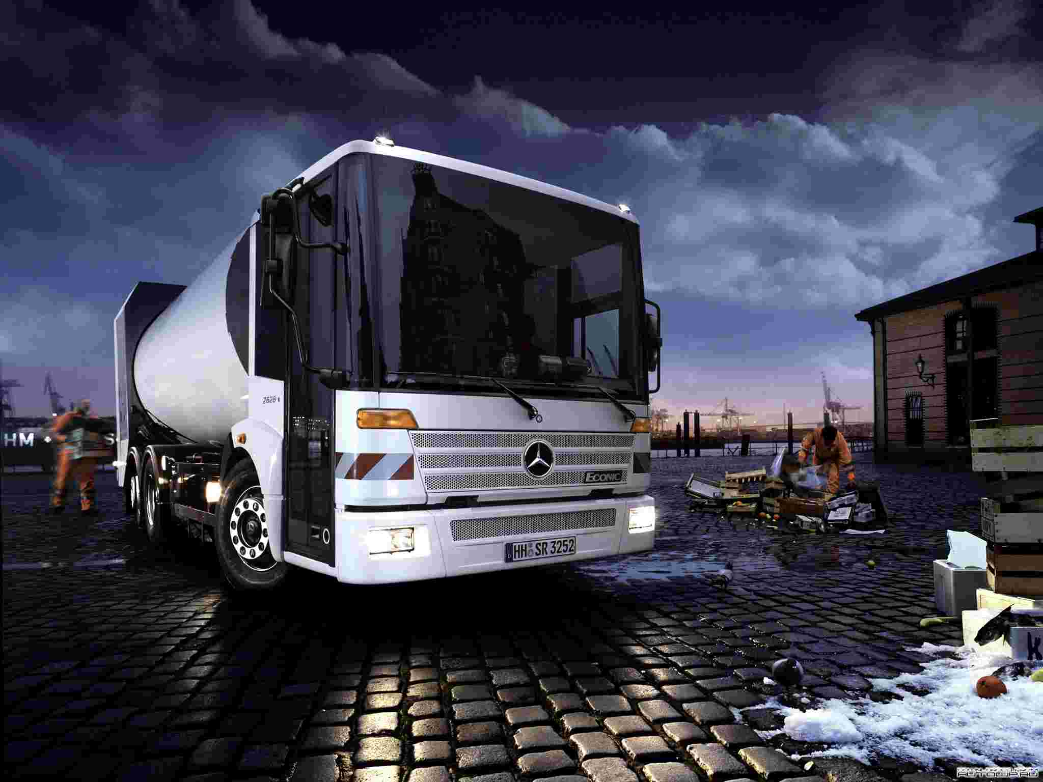 Mercedes-benz econic photo - 1