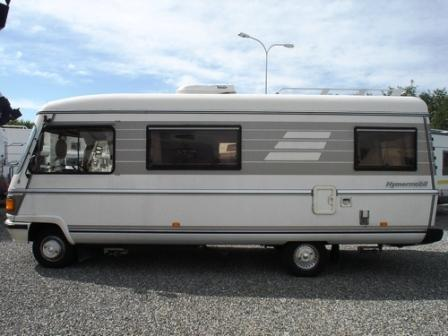 Mercedes-benz hymer photo - 1