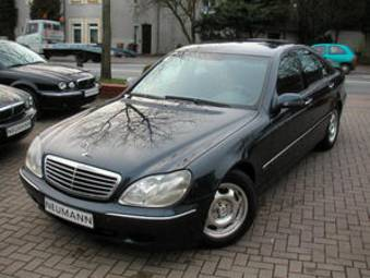 Mercedes-benz s320 photo - 1
