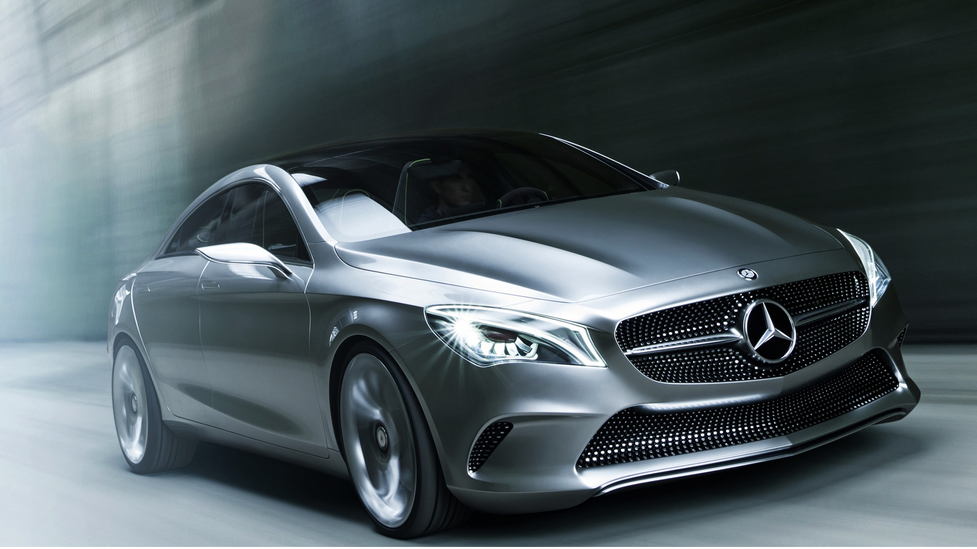 Mercedes-benz silver photo - 2