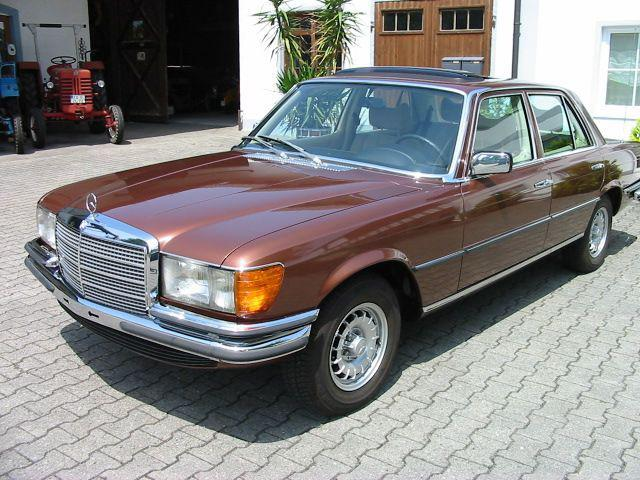 Mercedes-benz w116 photo - 2