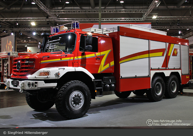 Mercedes-benz zetros photo - 3