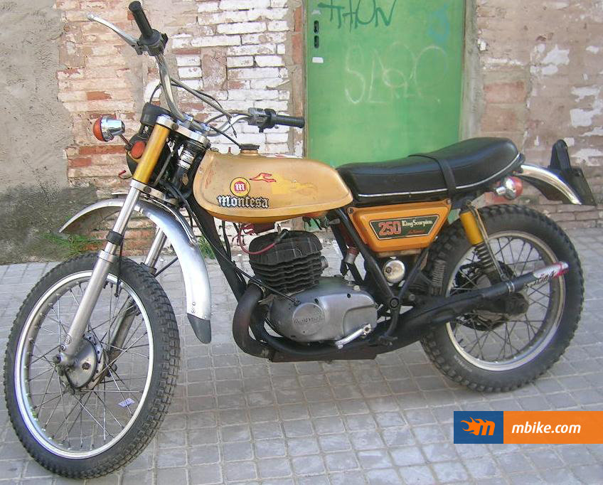 Montesa scorpion photo - 3