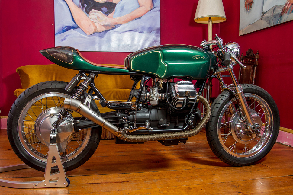 Moto guzzi 65 photo - 4