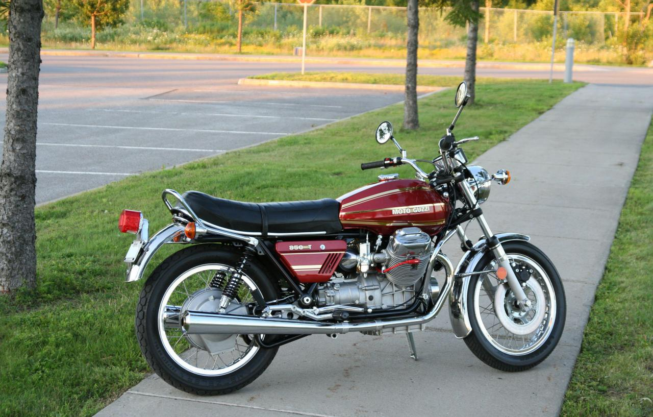 Moto guzzi 850t photo - 3