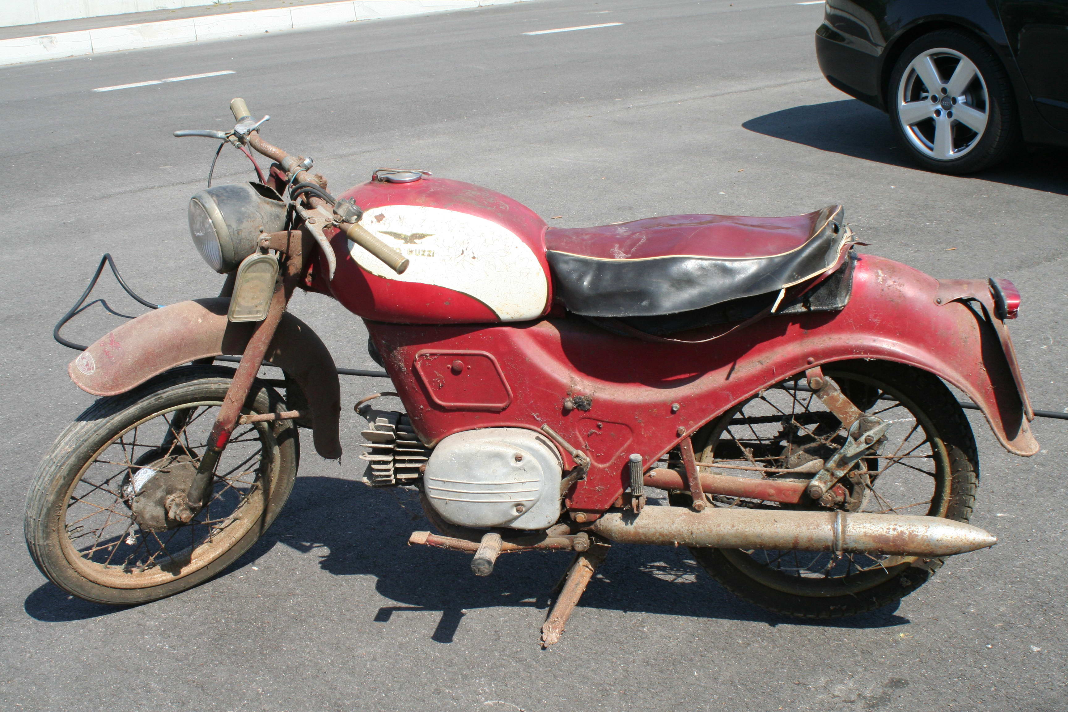 Moto guzzi zigolo photo - 2