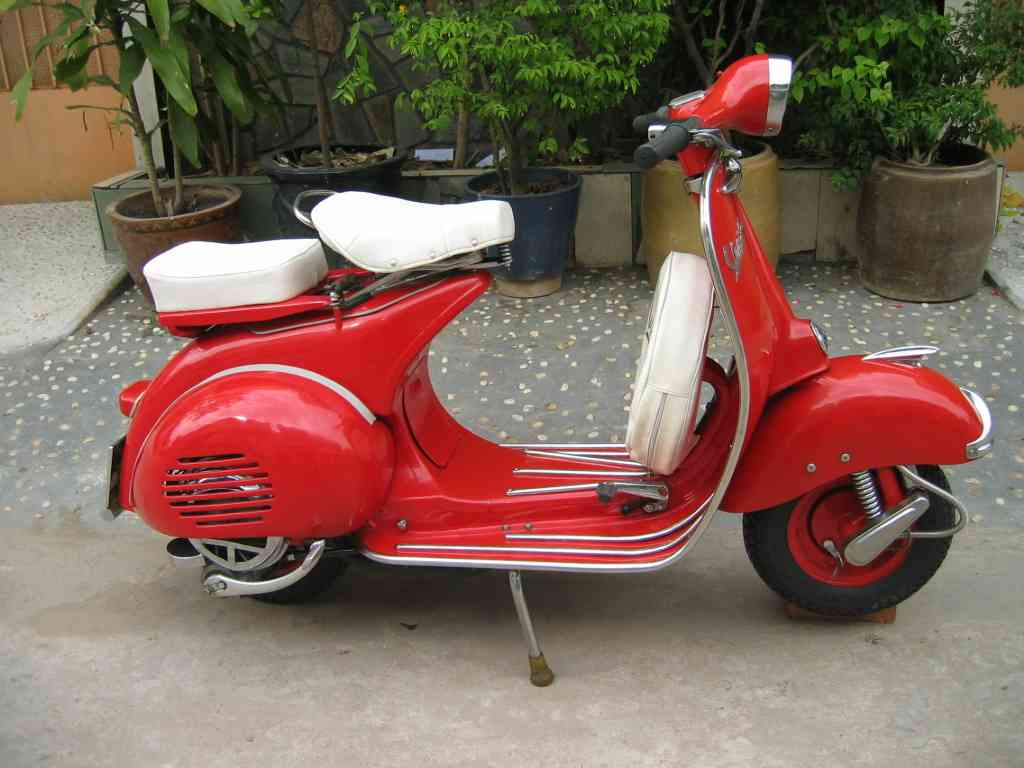 Moto vespa px photo - 1