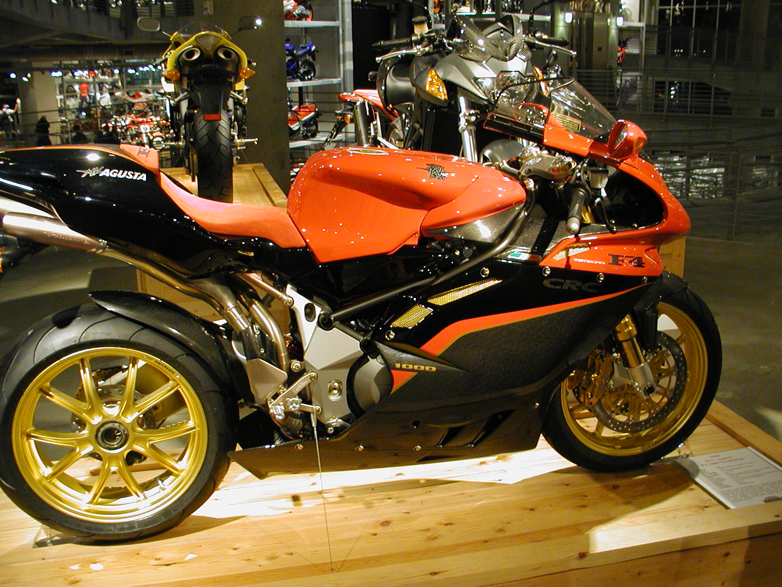 Mv agusta f4cc photo - 1