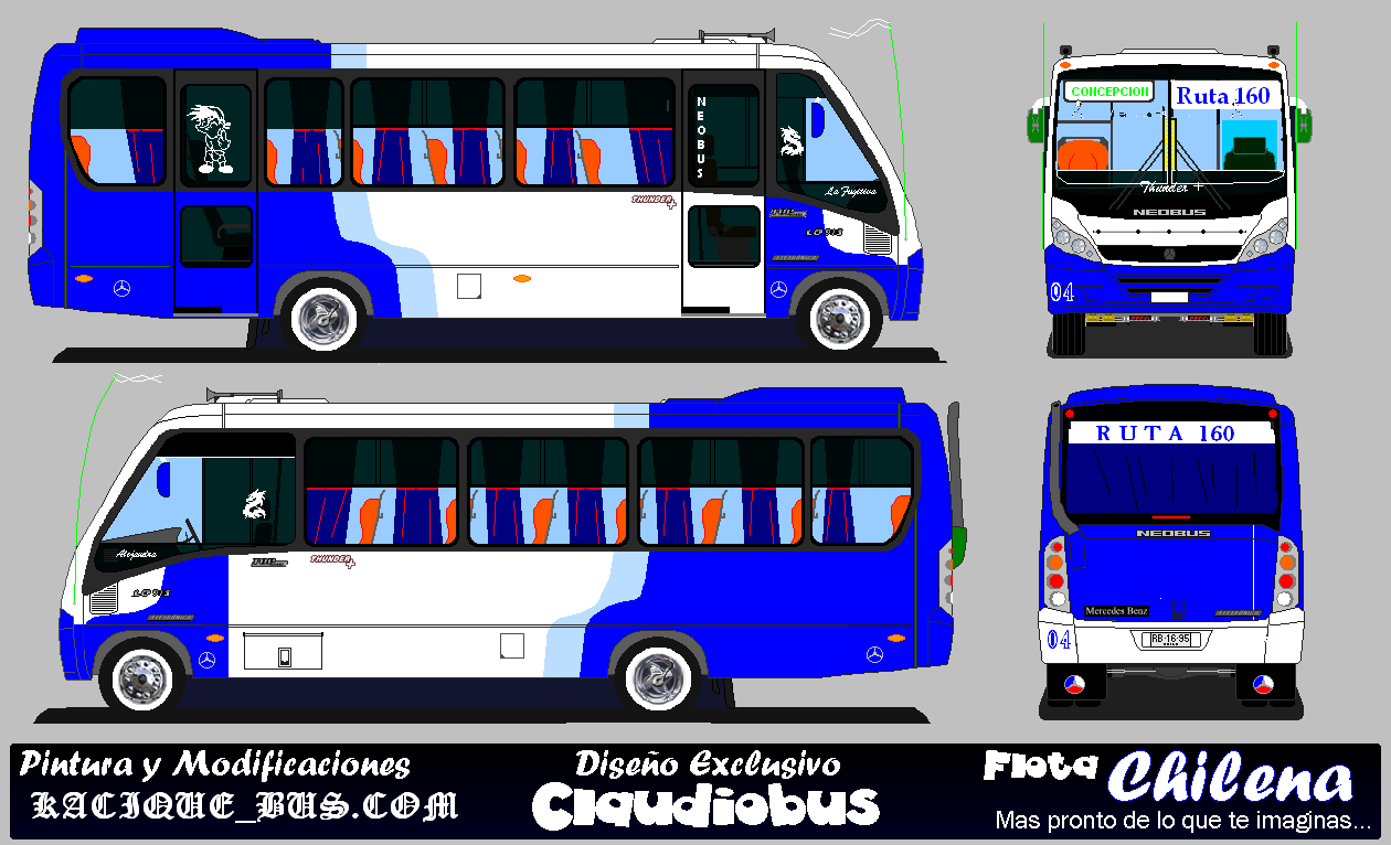 Neobus thunder photo - 3