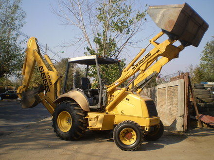 New holland 555e photo - 2