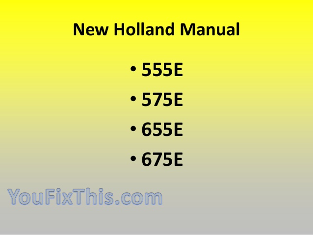 New holland 555e photo - 3