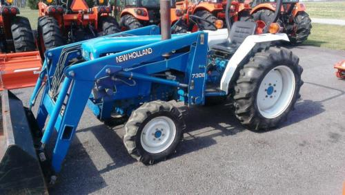 New holland 7308 photo - 1