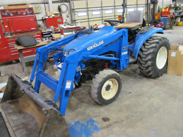 New holland 7308 photo - 4