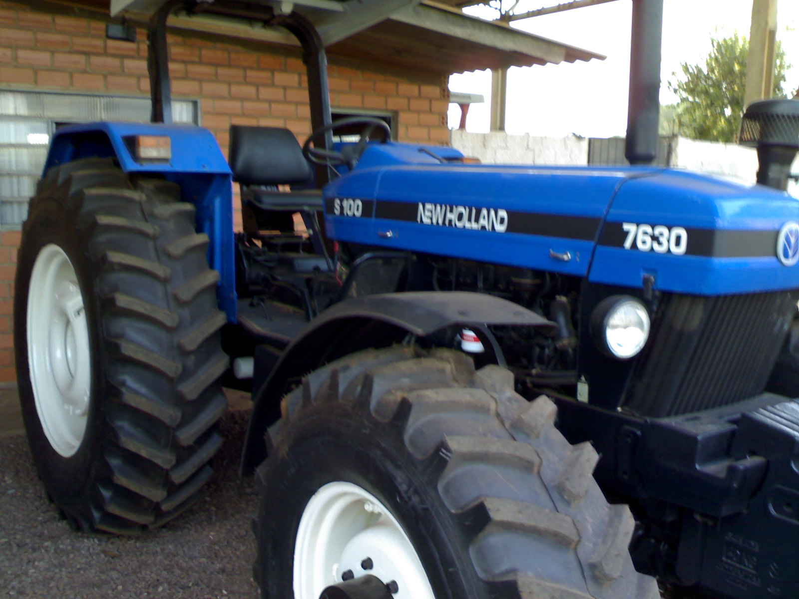 New holland 7630 photo - 1