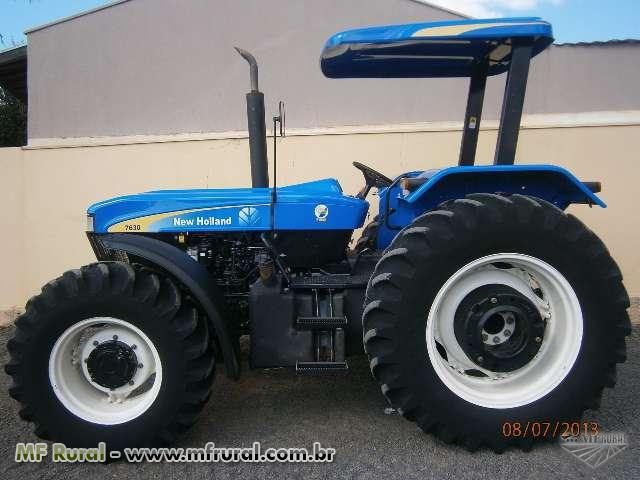 New holland 7630 photo - 2