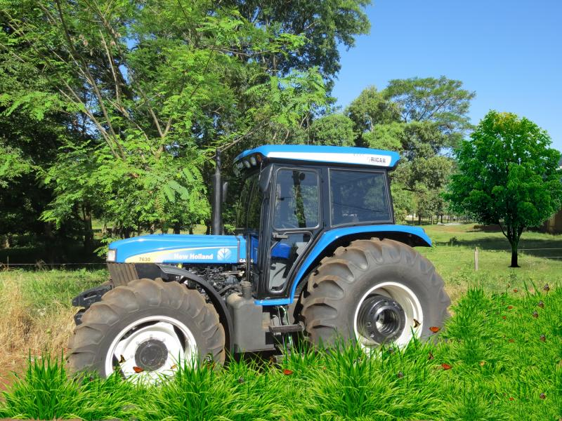 New holland 7630 photo - 3