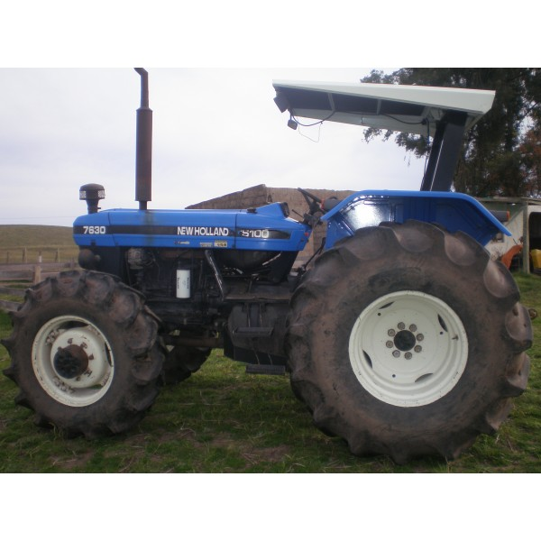 New holland 7630 photo - 4