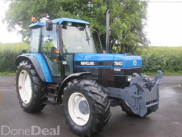 New holland 7840 photo - 3
