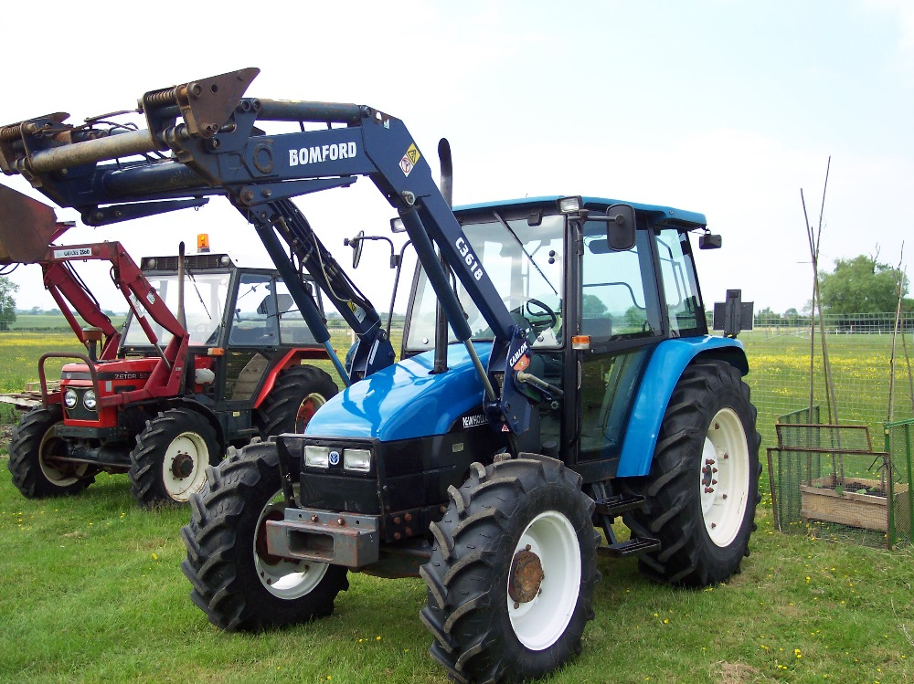 New holland ford photo - 2