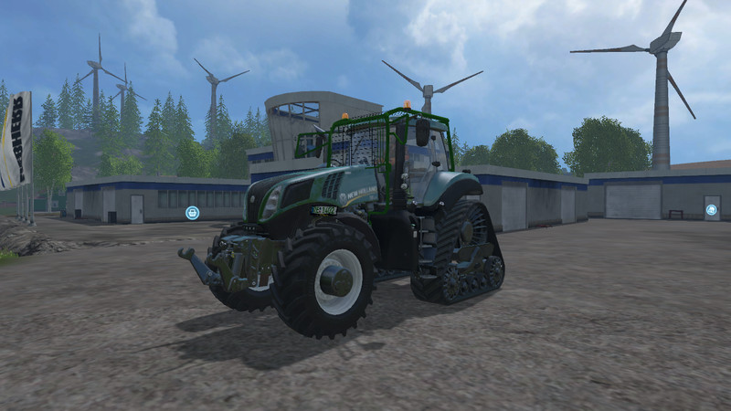 New holland t-series photo - 4