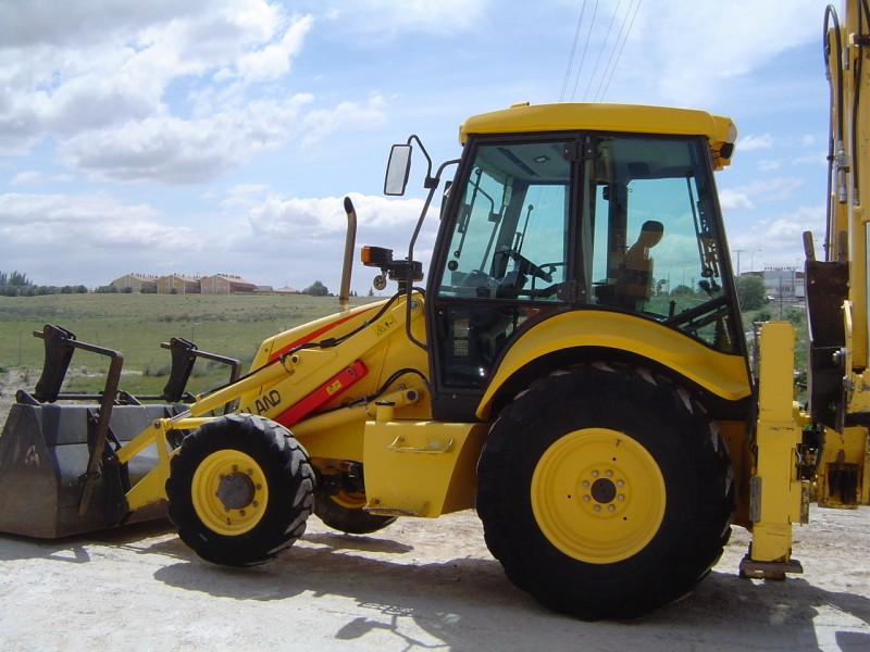 New holland tj425 photo - 3