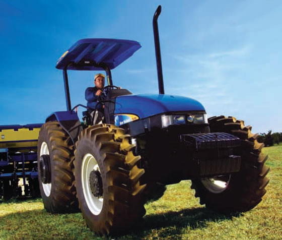 New holland tl photo - 2