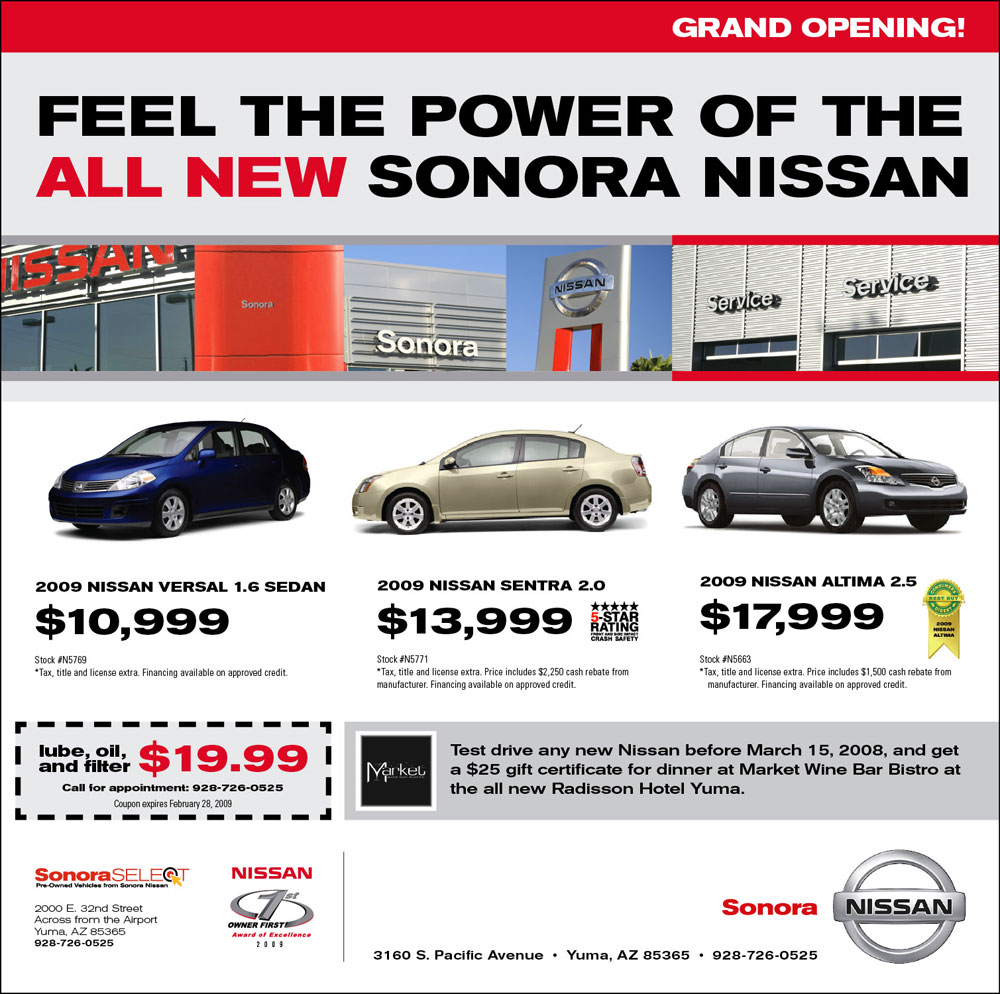 Nissan ad photo - 4