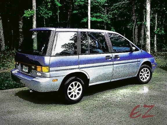 Nissan axxess photo - 2