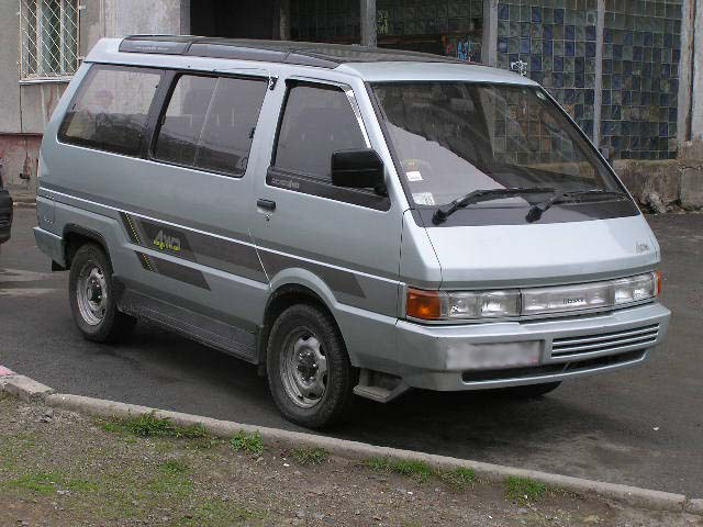 Nissan largo photo - 2