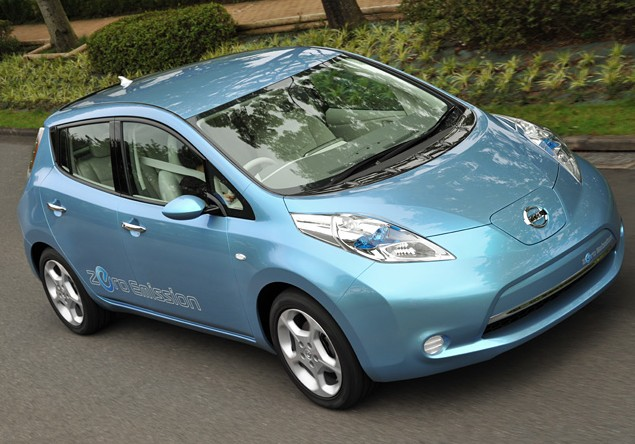 Nissan leaf photo - 1