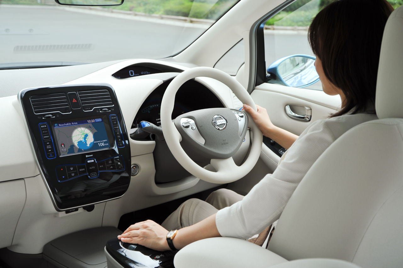 Nissan leaf photo - 3