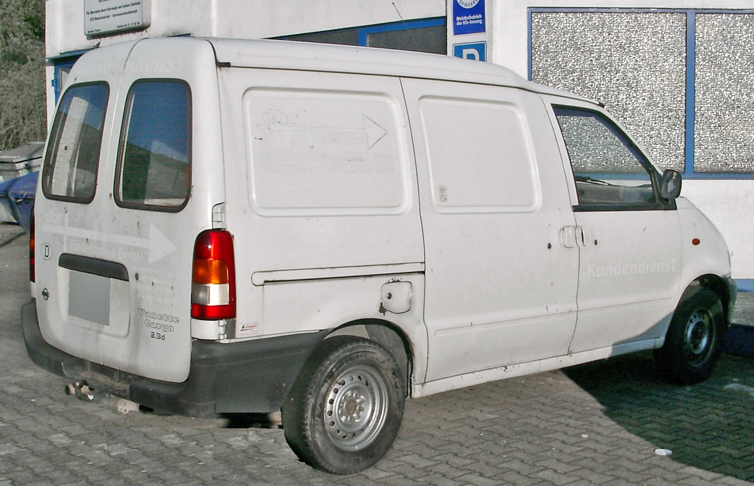 Nissan vanette photo - 4