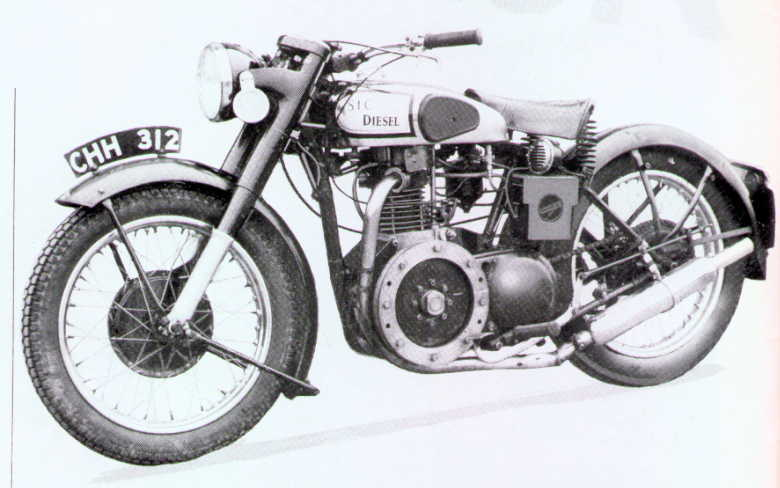 Norton twin photo - 2