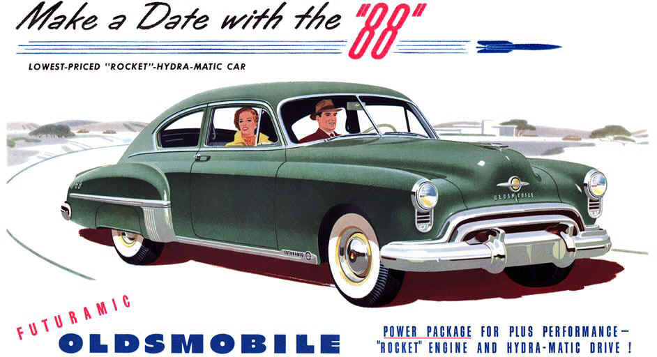 Oldsmobile futuramic photo - 1