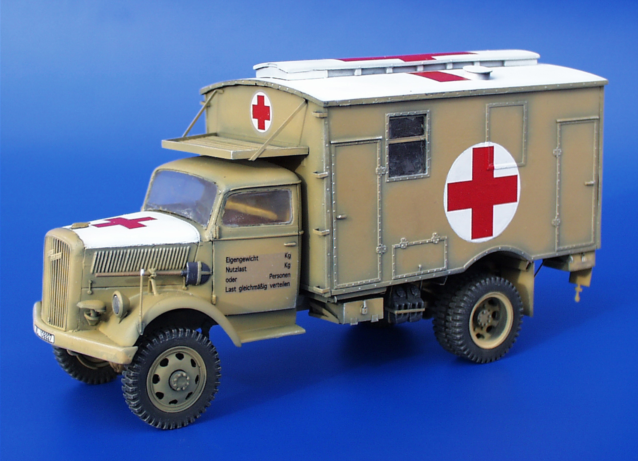 Opel ambulance photo - 2