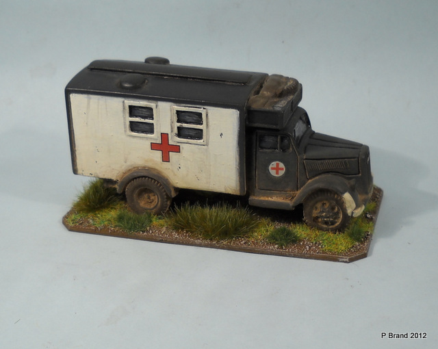 Opel ambulance photo - 4