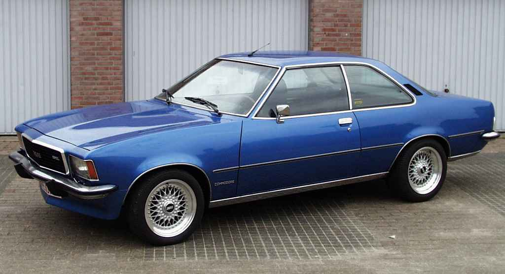 Opel commodore photo - 1