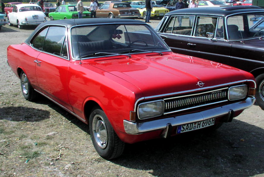 Opel commodore photo - 2