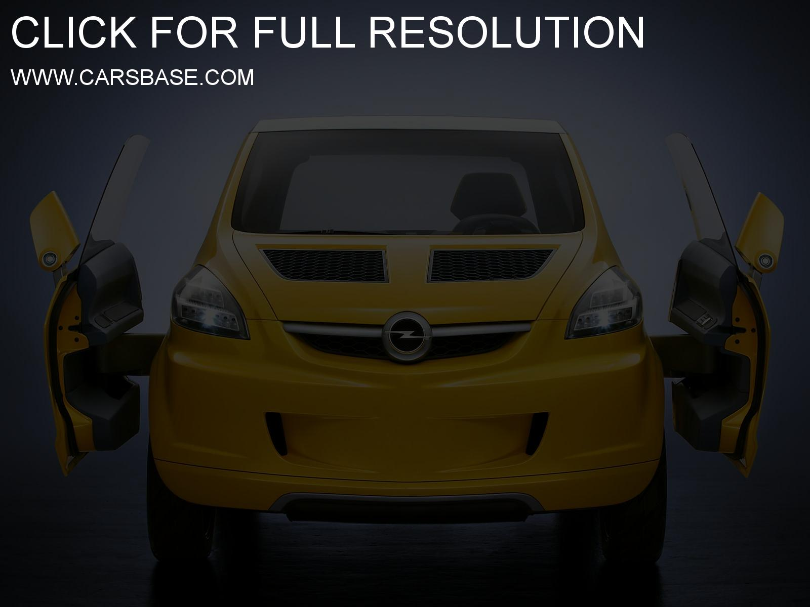 Opel trixx photo - 1