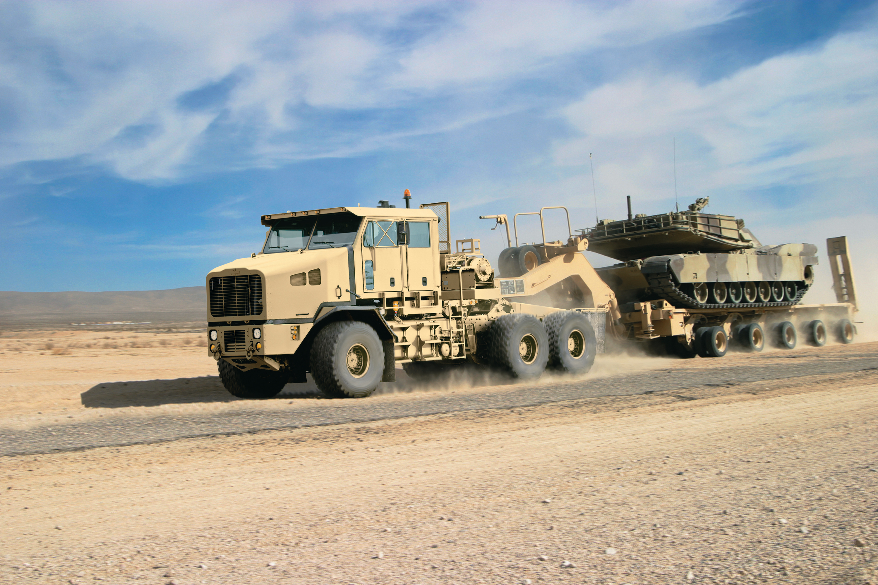 Oshkosh sandcat photo - 2