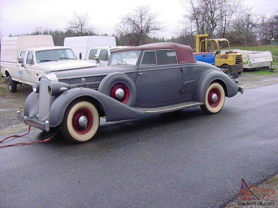Packard roadster photo - 3