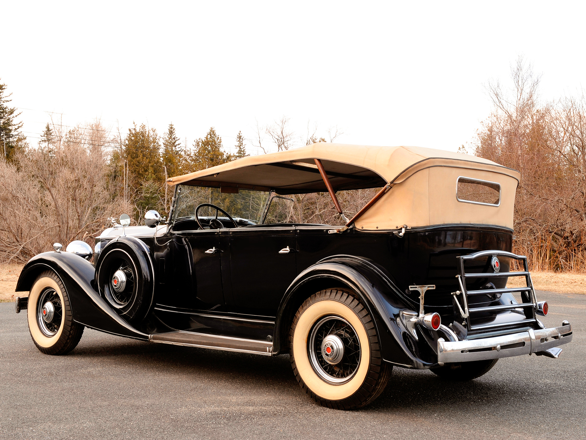 Packard touring photo - 4