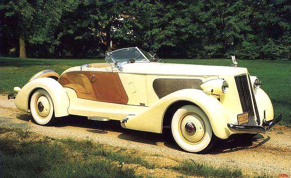 Packard v12 photo - 1