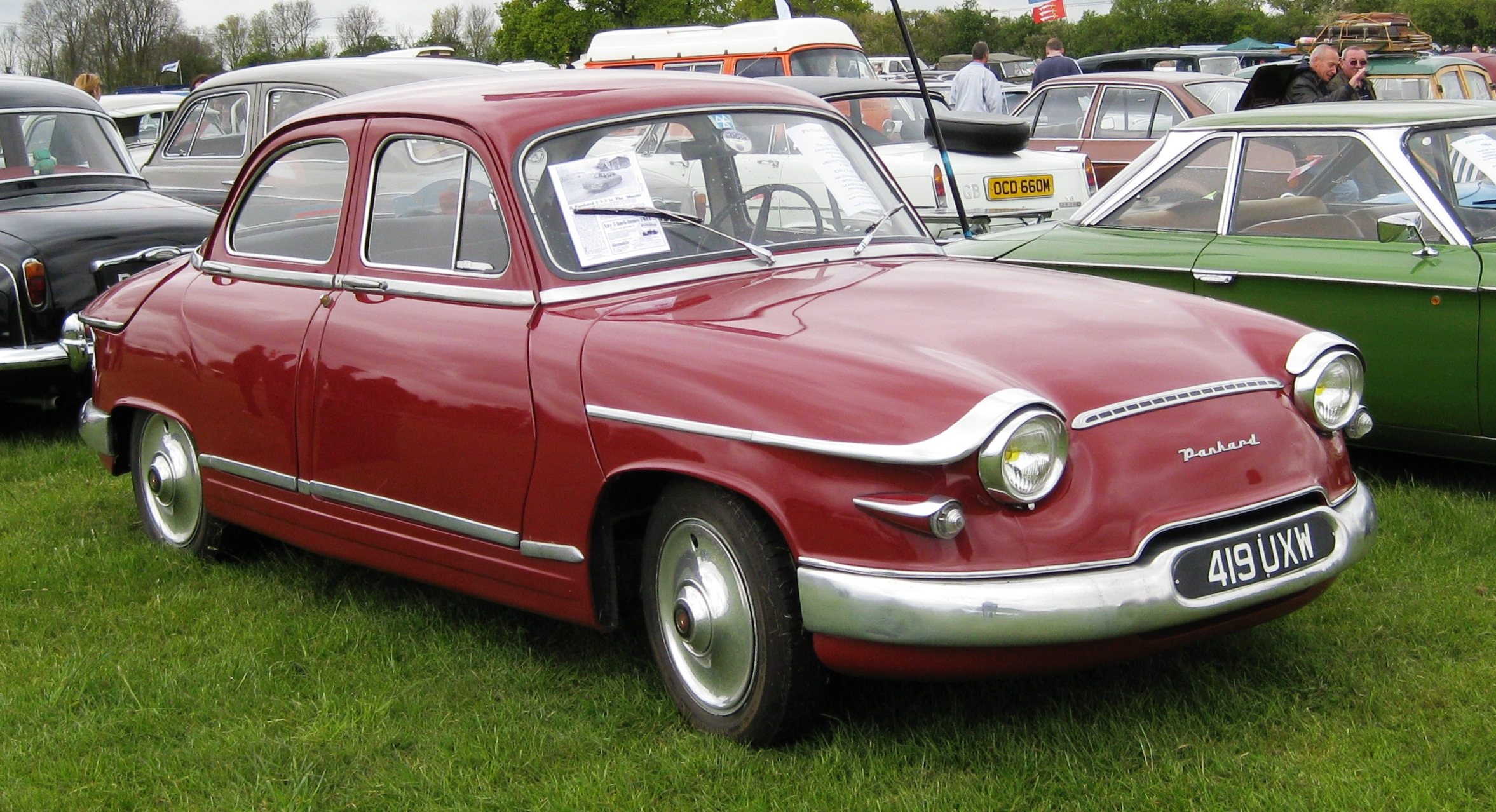 Panhard 17 photo - 1