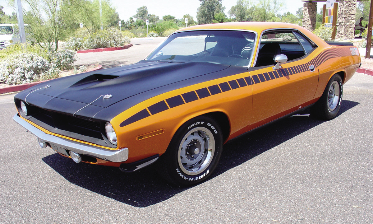 Plymouth barracuda photo - 2